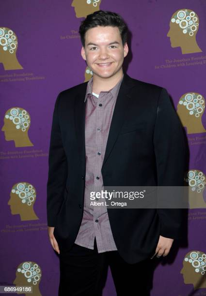 Actor Austin Mincks arrives for The Jonathan Foundation Presents The 2017 Spring Fundraising Event To Benefit Children With Learning Disabilities...