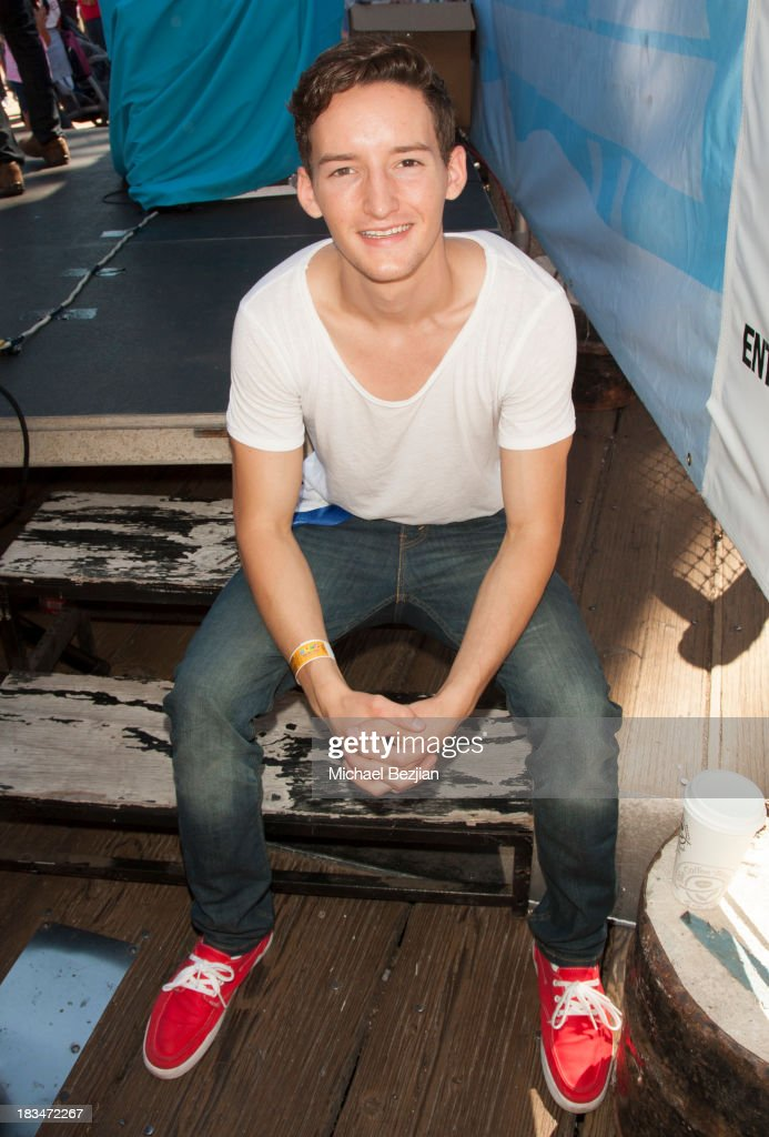 Actor Austin Mincks attends the 14th Annual 'Mattel Party On The Pier' Benefiting Mattel Children's Hospital UCLA at Santa Monica Pier on October 6, 2013 in Santa Monica, California.
