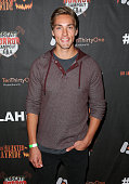 Actor Austin Norton attends the 7th Annual LA Haunted Hayride at Griffith Park Zoo on October 4 2015 in Los Angeles California