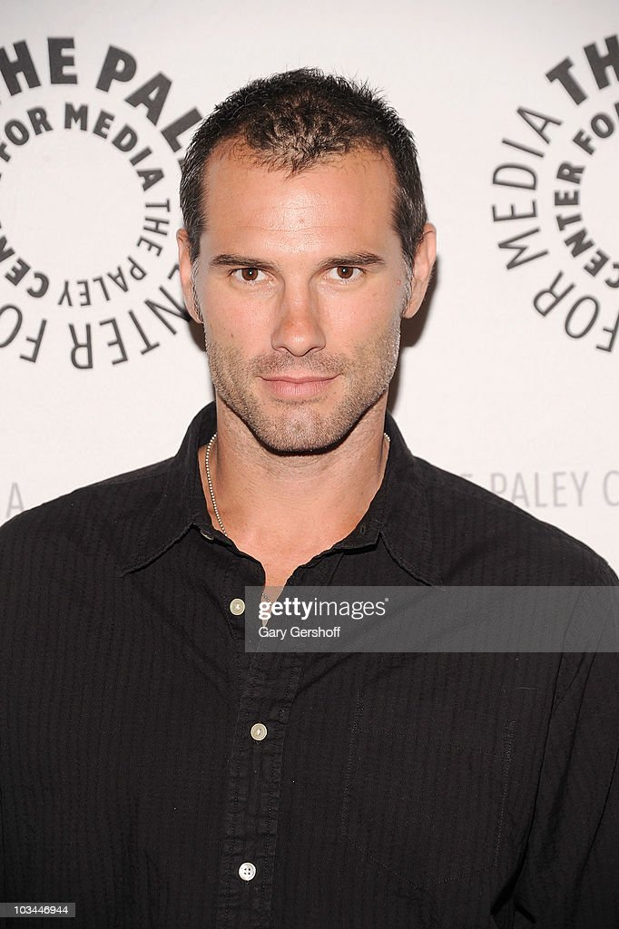 Actor Austin Peck attends a farewell to cast of 'As The World Turns' at The Paley Center for Media on August 18, 2010 in New York City.