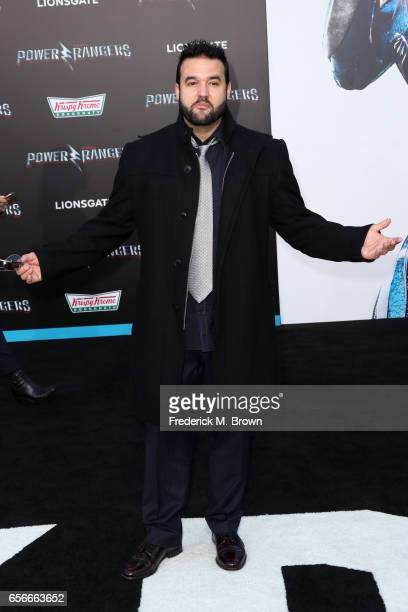 Actor Austin St John at the premiere of Lionsgate's 'Power Rangers' on March 22 2017 in Westwood California