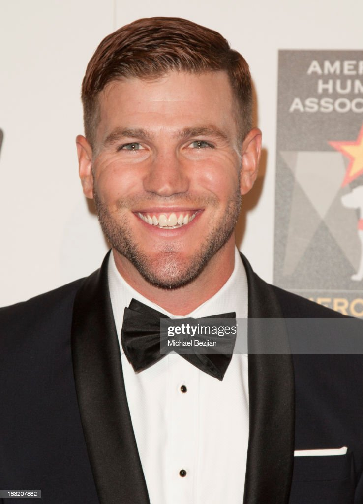 Actor Austin Stowell arrives at the 3rd Annual American Humane Association Hero Dog Awards at The Beverly Hilton Hotel on October 5, 2013 in Beverly Hills, California.