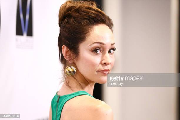 Actor Autumn Reeser attends the premiere of Destination Films' 'Kill 'em All' at Harmony Gold on June 6 2017 in Los Angeles California