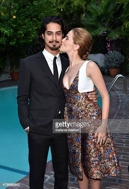 Actor Avan Jogia and actress Zoey Deutch attend the Vainty Fair and Spike celebration of the premiere of the new series 'TUT' at Chateau Marmont on...