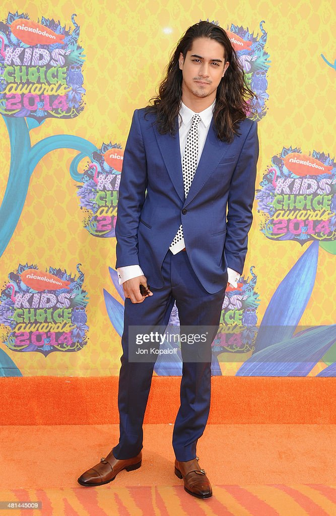 Actor <a gi-track='captionPersonalityLinkClicked' href=/galleries/search?phrase=Avan+Jogia&family=editorial&specificpeople=5460605 ng-click='$event.stopPropagation()'>Avan Jogia</a> arrives at Nickelodeon's 27th Annual Kids' Choice Awards at USC Galen Center on March 29, 2014 in Los Angeles, California.