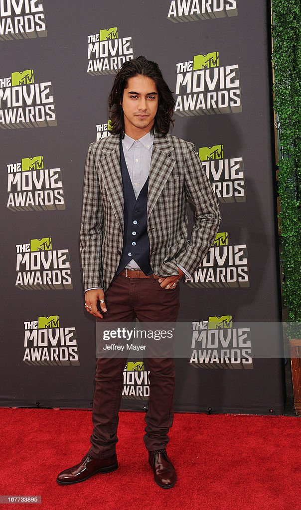 Actor Avan Jogia arrives at the 2013 MTV Movie Awards at Sony Pictures Studios on April 14, 2013 in Culver City, California.