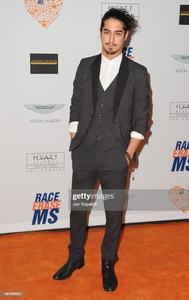 Actor Avan Jogia arrives at the 21st Annual Race To Erase MS Gala at the Hyatt Regency Century Plaza on May 2, 2014 in Century City, California.