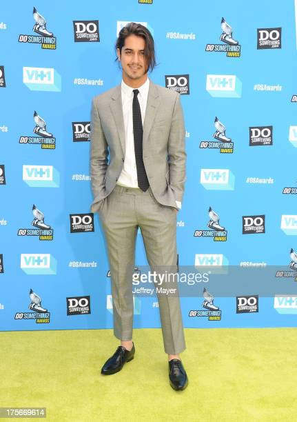 Actor Avan Jogia arrives at the DoSomethingorg and VH1's 2013 Do Something Awards at Avalon on July 31 2013 in Hollywood California