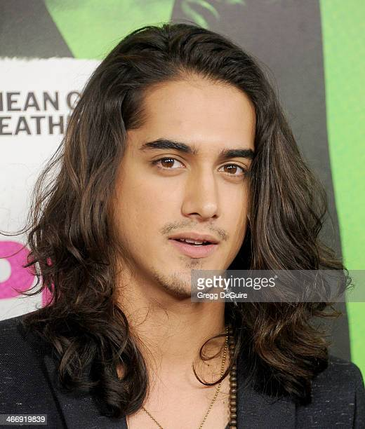 Actor Avan Jogia arrives at the Los Angeles premiere of 'Vampire Academy' at Regal Cinemas LA Live on February 4 2014 in Los Angeles California