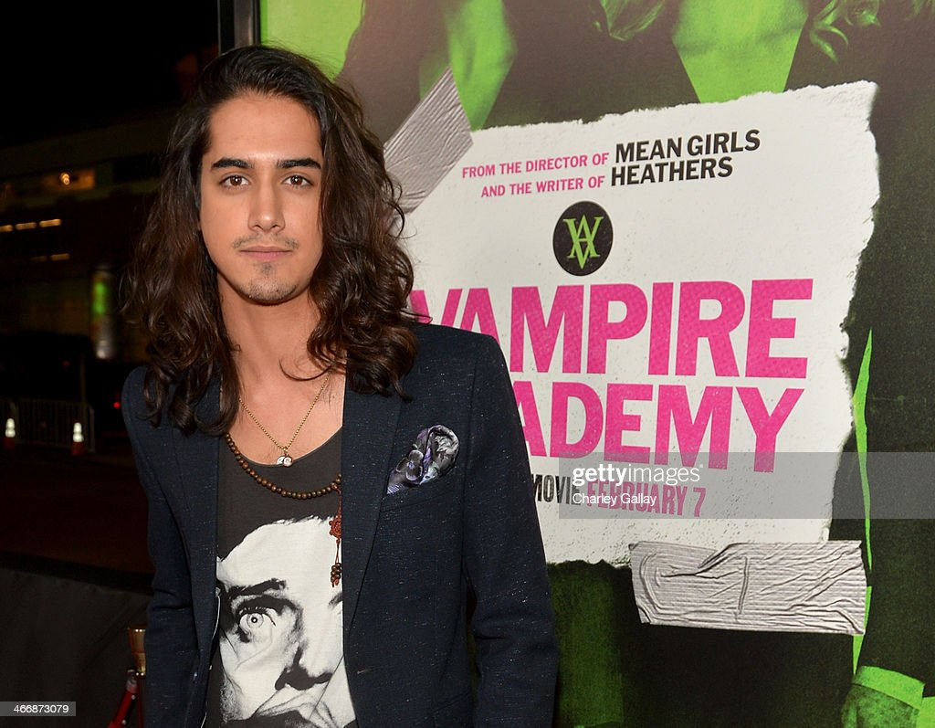 Actor <a gi-track='captionPersonalityLinkClicked' href=/galleries/search?phrase=Avan+Jogia&family=editorial&specificpeople=5460605 ng-click='$event.stopPropagation()'>Avan Jogia</a> arrives at The Weinstein Company's premiere of 'Vampire Academy' at Regal 14 at L.A. Live Downtown on February 4, 2014 in Los Angeles, California.