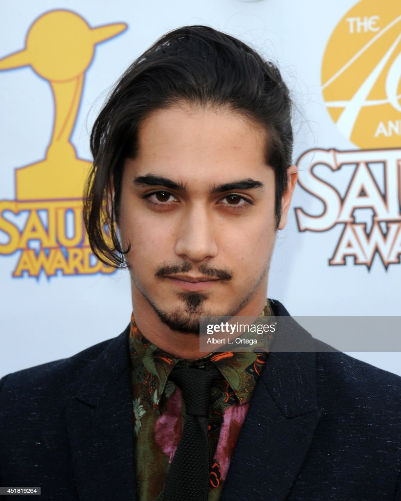 Actor <a gi-track='captionPersonalityLinkClicked' href=/galleries/search?phrase=Avan+Jogia&family=editorial&specificpeople=5460605 ng-click='$event.stopPropagation()'>Avan Jogia</a> arrives for the 40th Annual Saturn Awards held at The Castaway on June 26, 2014 in Burbank, California.