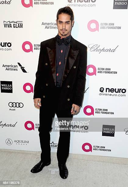 Actor Avan Jogia attends the 23rd Annual Elton John AIDS Foundation's Oscar Viewing Party on February 22 2015 in West Hollywood California