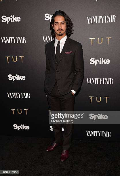 Actor Avan Jogia attends the premiere of Spike TV's new series 'TUT' at Chateau Marmont on July 8 2015 in Los Angeles California