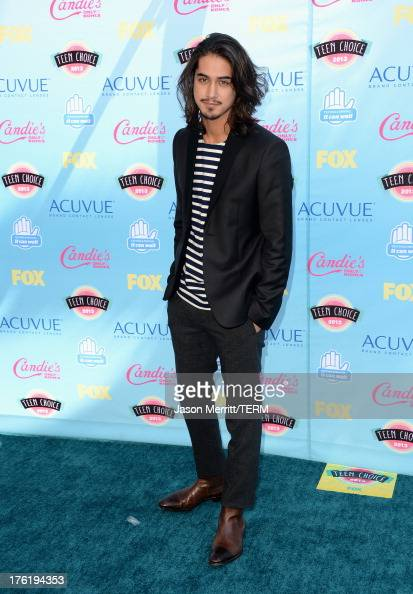 Actor Avan Jogia attends the Teen Choice Awards 2013 at Gibson Amphitheatre on August 11 2013 in Universal City California