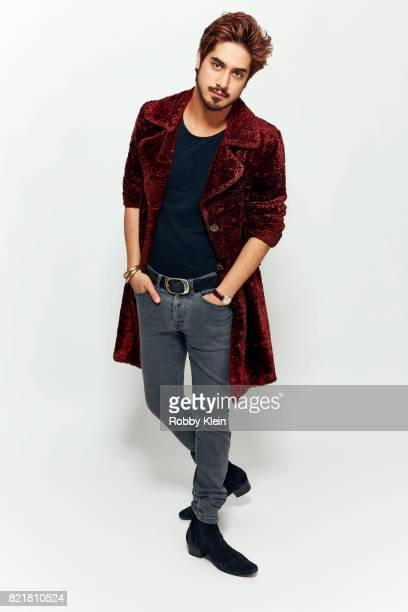 Actor Avan Jogia from Syfy's 'Ghost Wars' poses for a portrait during ComicCon 2017 at Hard Rock Hotel San Diego on July 23 2017 in San Diego...