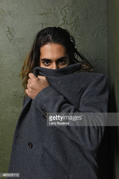 Actor Avan Jogia from 'Ten Thousand Saints' poses for a portrait at the Village at the Lift Presented by McDonald's McCafe during the 2015 Sundance...