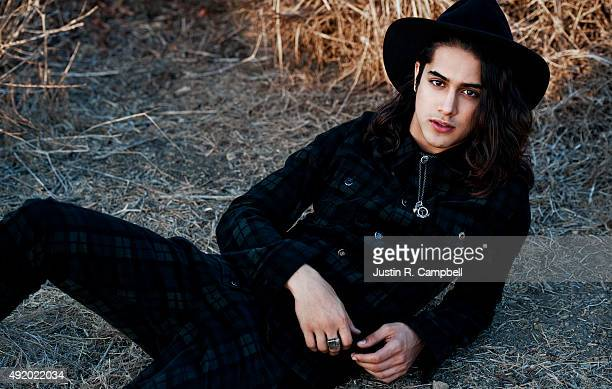 Actor Avan Jogia is photographed for Just Jared on November 8 2013 in Los Angeles California