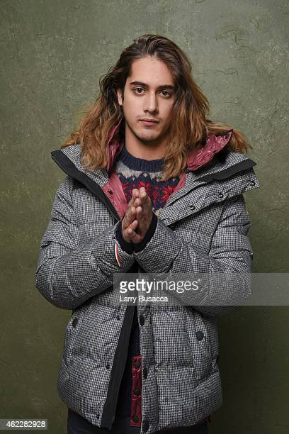 Actor Avan Jogia poses for a portrait at the Village at the Lift Presented by McDonald's McCafe during the 2015 Sundance Film Festival on January 25...