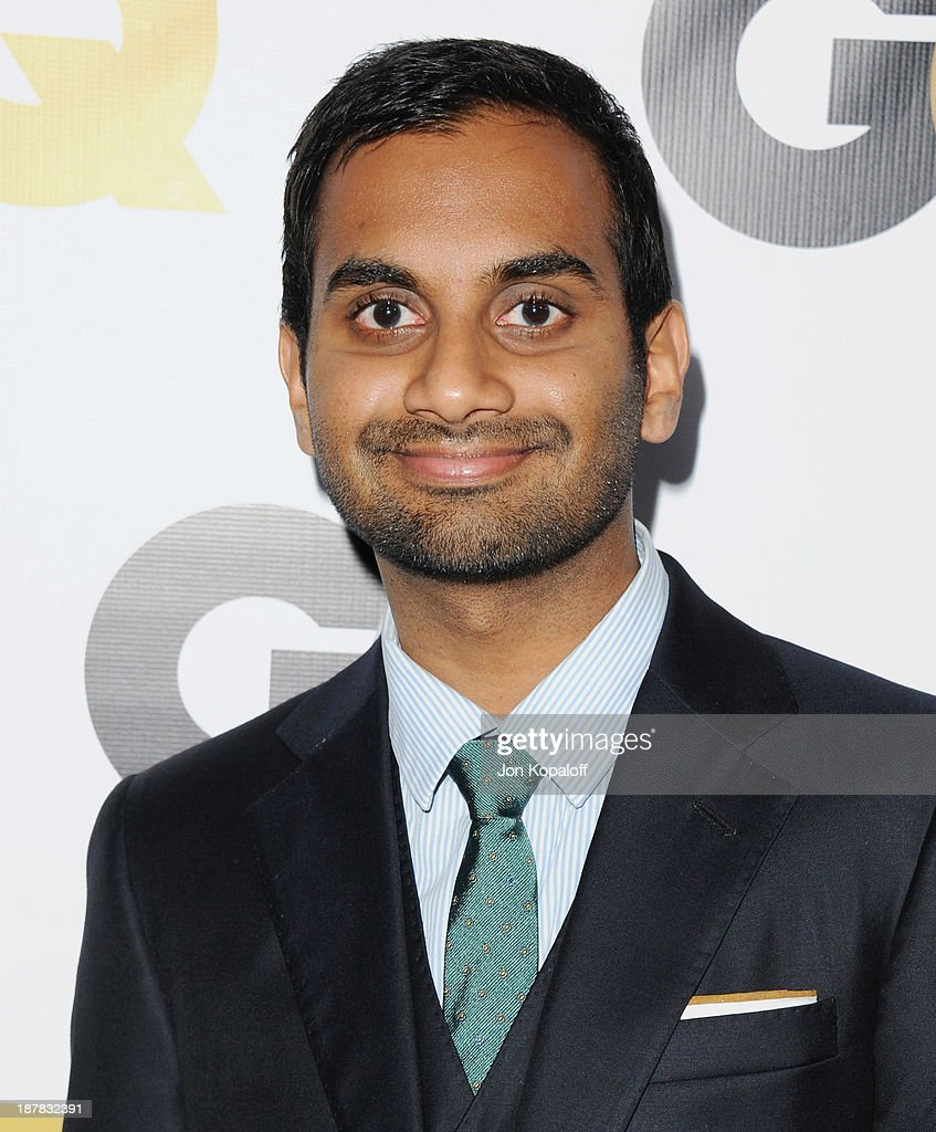 Actor Aziz Ansari arrives at GQ Celebrates The 2013 'Men Of The Year' at The Wilshire Ebell Theatre on November 12, 2013 in Los Angeles, California.
