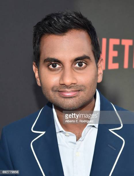 Actor Aziz Ansari attends Netflix's 'Master Of None' For Your Consideration Event at the Saban Media Center on June 5 2017 in North Hollywood...