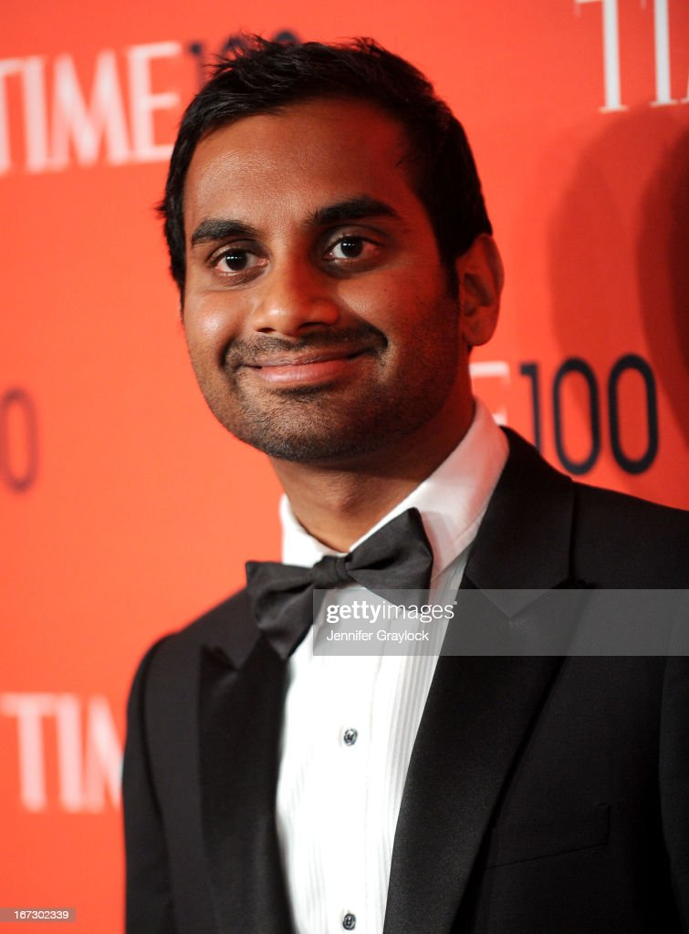 Actor <a gi-track='captionPersonalityLinkClicked' href=/galleries/search?phrase=Aziz+Ansari&family=editorial&specificpeople=4266146 ng-click='$event.stopPropagation()'>Aziz Ansari</a> attends the 2013 Time 100 Gala at Frederick P. Rose Hall, Jazz at Lincoln Center on April 23, 2013 in New York City.
