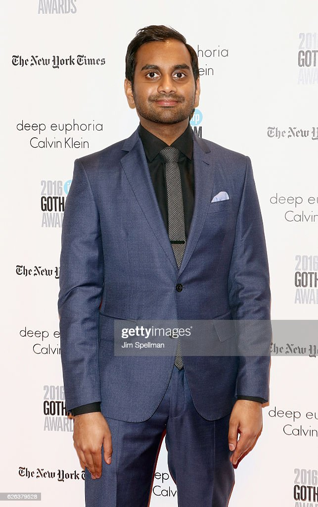 Actor Aziz Ansari attends the 26th Annual Gotham Independent Film Awards at Cipriani Wall Street on November 28, 2016 in New York City.