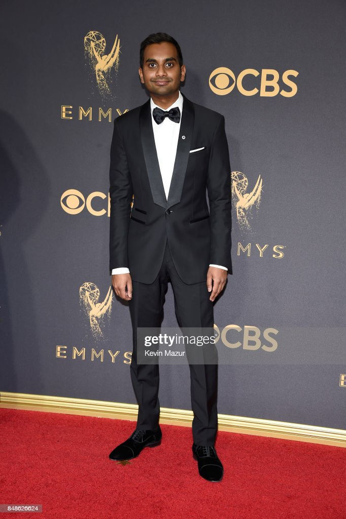 Actor Aziz Ansari attends the 69th Annual Primetime Emmy Awards at Microsoft Theater on September 17, 2017 in Los Angeles, California.