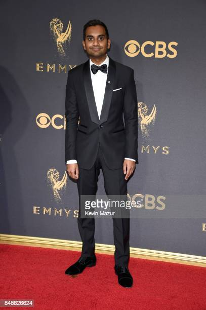 Actor Aziz Ansari attends the 69th Annual Primetime Emmy Awards at Microsoft Theater on September 17 2017 in Los Angeles California