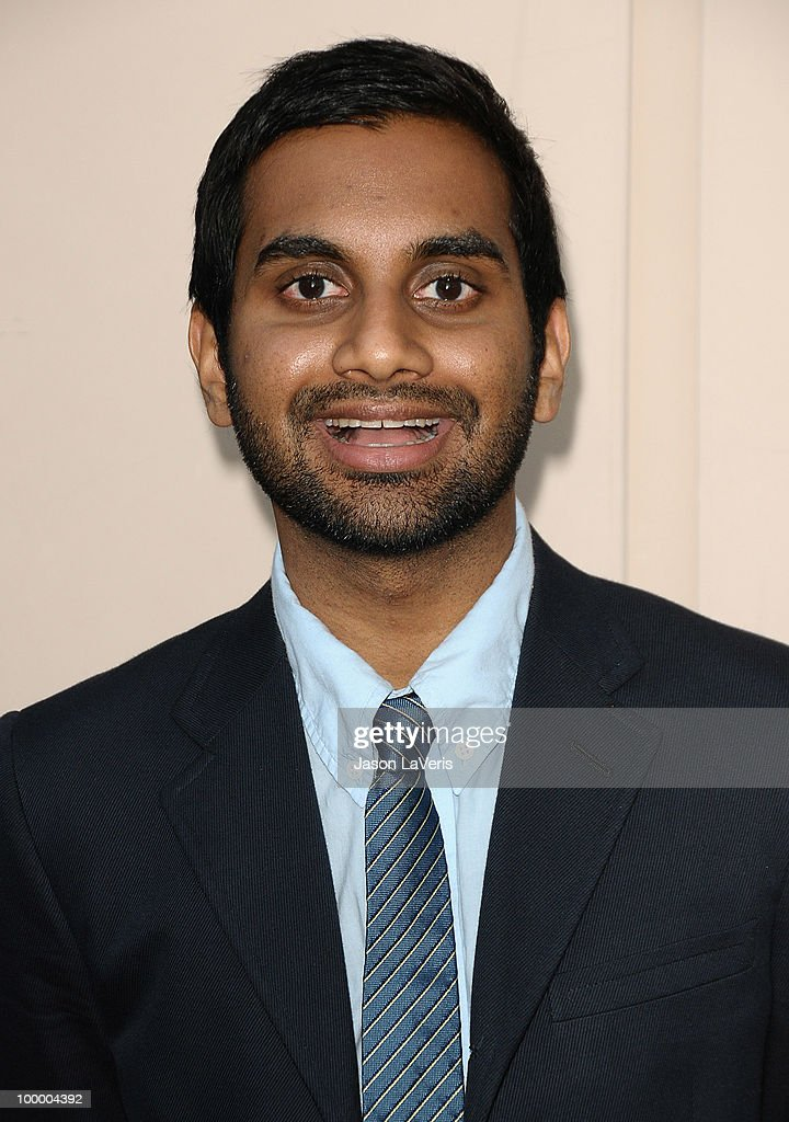 Actor Aziz Ansari attends the 'Parks And Recreation' Emmy screening at Leonard H. Goldenson Theatre on May 19, 2010 in North Hollywood, California.