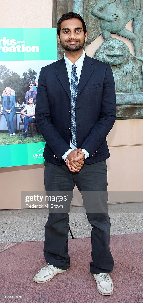 Actor Aziz Ansari attends the screening of 'Parks and Recreation' at the Leonard H. Goldenson Theatre on May 19, 2010 in North Hollywood, California.
