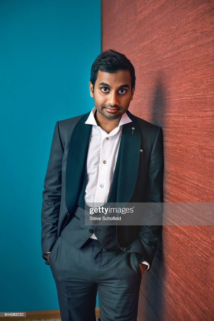 Actor Aziz Ansari is photographed for Emmy magazine on September 18, 2016 in Los Angeles, California.