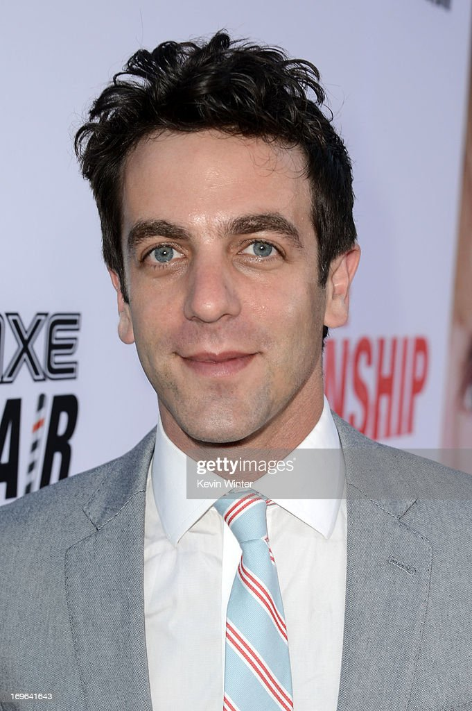 Actor B. J. Novak arrives at the premiere of Twentieth Century Fox's 'The Internship' at Regency Village Theatre on May 29, 2013 in Westwood, California.