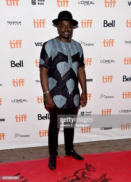 Actor Babou Ceesay attends the 'Free Fire' premiere screening party hosted by Bulleit at Early Mercy on September 8 2016 in Toronto Canada
