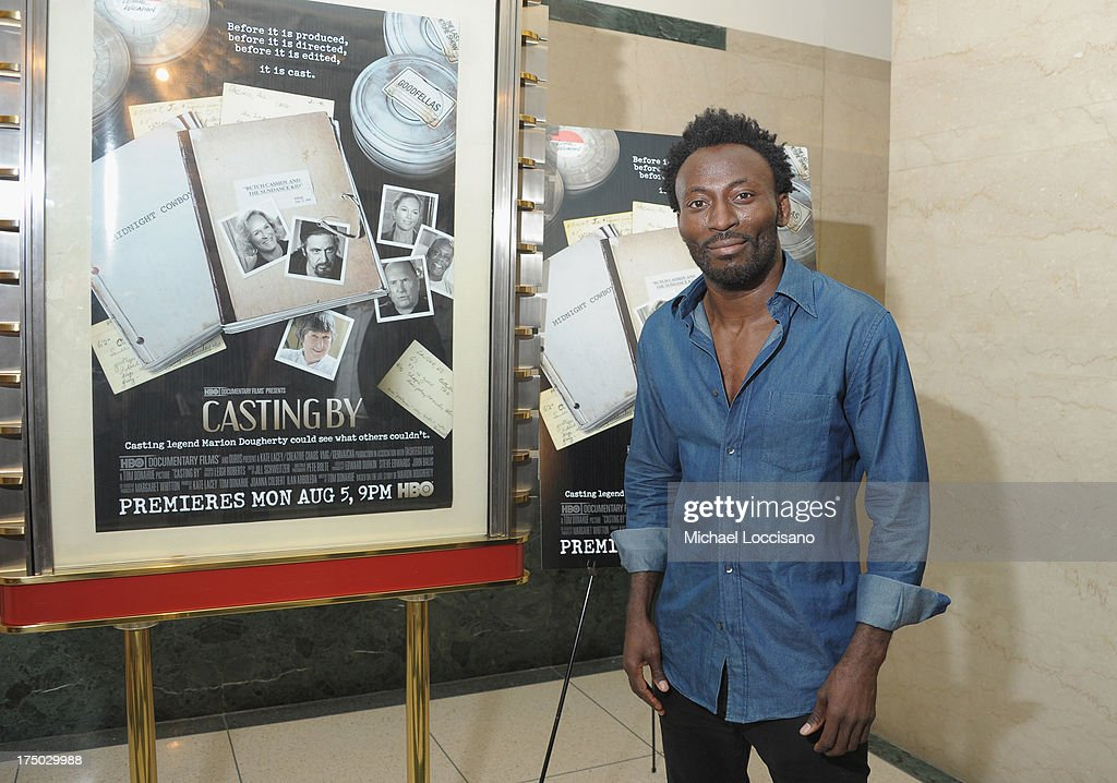 Actor Babs Olusanmokun attends the New York Premiere of HBO Documentary 'Casting By' at HBO Theater on July 29, 2013 in New York City.