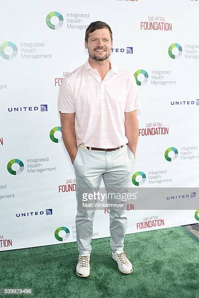 Actor Bailey Chase arrives at SAGAFTRA Foundation 7th annual LA Golf Classic Fundraiser on June 13 2016 in Burbank California