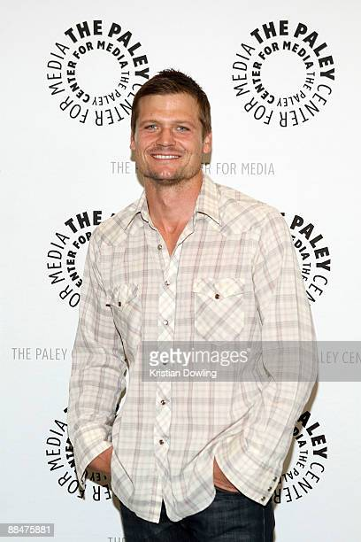 Actor Bailey Chase arrives for the Third Season Premiere Screening and Panel for the TV Show 'Saving Grace' at The Paley Center for Media on June 13...