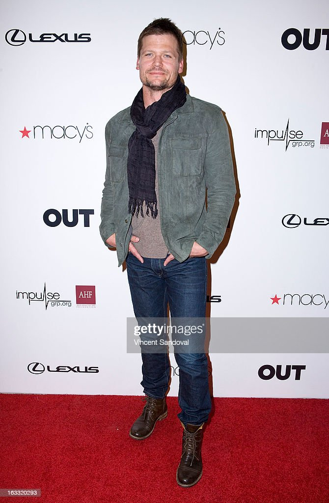 Actor Bailey Chase attends OUT magazine's celebration of LA fashion week with OUT fashion benefiting the AIDS Healthcare Foundation at Pacific Design Center on March 7, 2013 in West Hollywood, California.