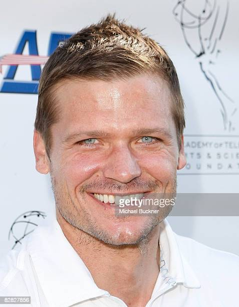 Actor Bailey Chase attends the AMPTV's 9th Annual Celebrity Golf Classic at El Caballero Country Club on September 15 2008 in Tarzana California