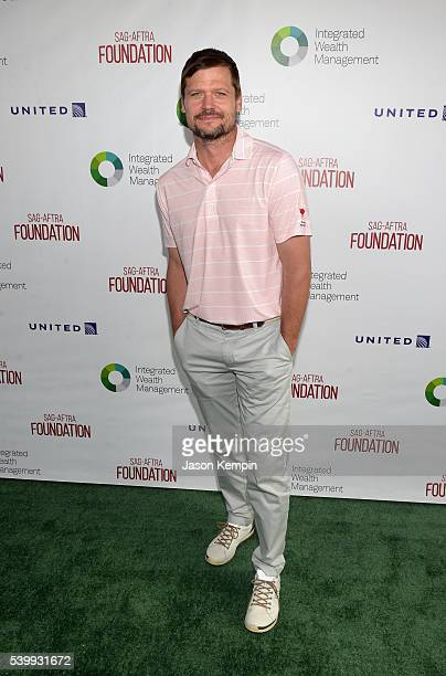 Actor Bailey Chase attends the SAGAFTRA Foundation 7th Annual LA Golf Classic Fundraiser on June 13 2016 in Los Angeles California