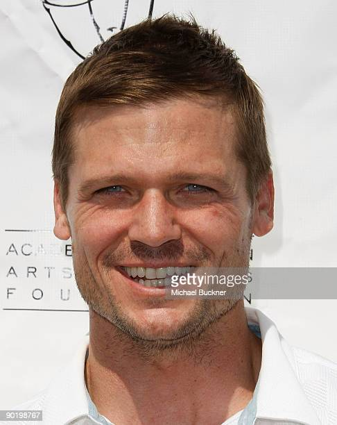 Actor Bailey Chase attends the TV Academy Foundation's 10th Annual Celebrity Golf Tournament at Lakeshore Country Club on August 31 2009 in Burbank...