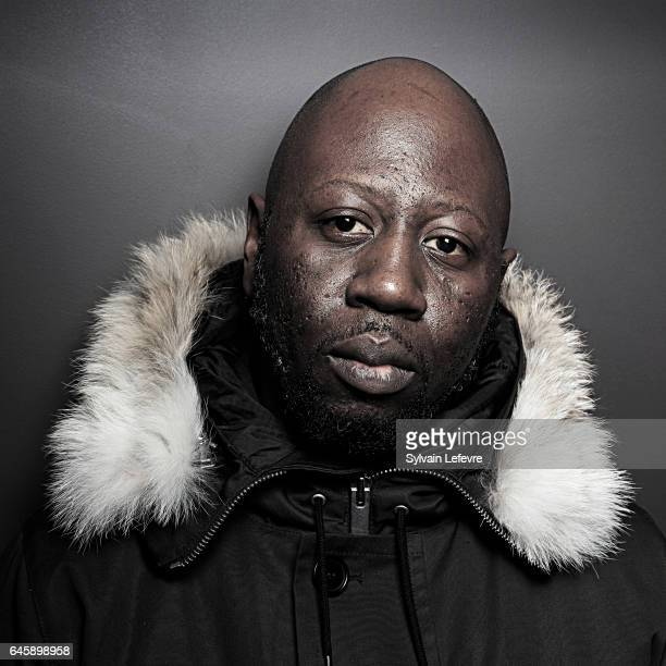 Actor Bakary Keita is photographed for Self Assignment in Paris France