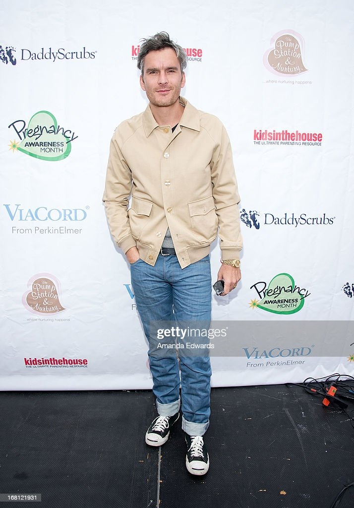 Actor Balthazar Getty arrives at the Pregnancy Awareness Month 2013 Kick-Off Event at Bergamot Station on May 5, 2013 in Santa Monica, California.