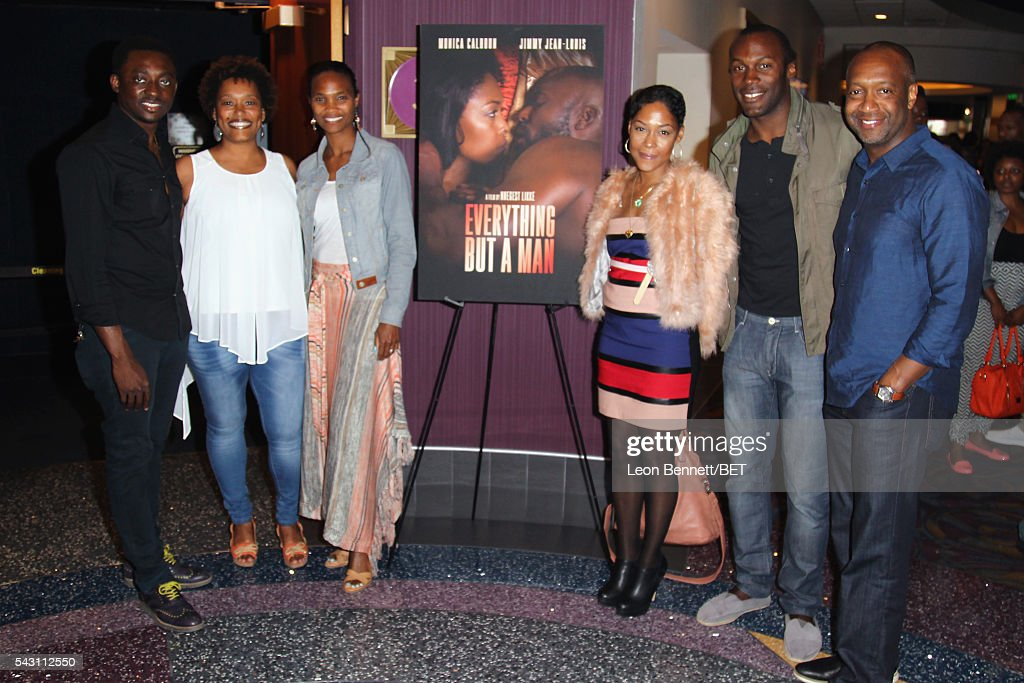 Actor Bambadjan Bamba filmmaker Nnegest Likke food commentator/culinary instructor Nicole Friday actress Monica Calhoun actor JeanPierre Vertus and...