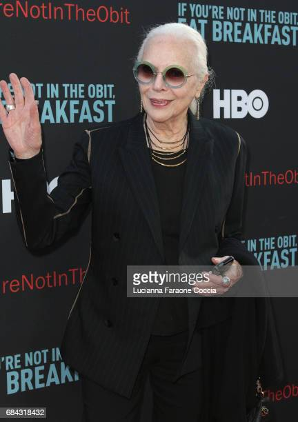 Actor Barbara Bain attends the premiere of HBO's 'If You're Not In The Obit Eat Breakfast' at Samuel Goldwyn Theater on May 17 2017 in Beverly Hills...