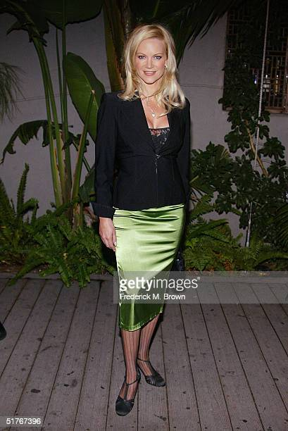 Actor Barbara Moore attends the 19th Annual Soap Opera Digest Awards at the White Lotus Restaurant on November 18 2004 in Hollywood California