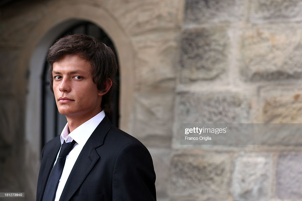 Actor Baris Hacihan from the film 'Araf - Somewhere In Between' poses during the 69th Venice Film Festival at the Cinecitta Luce space on September 5, 2012 in Venice, Italy.