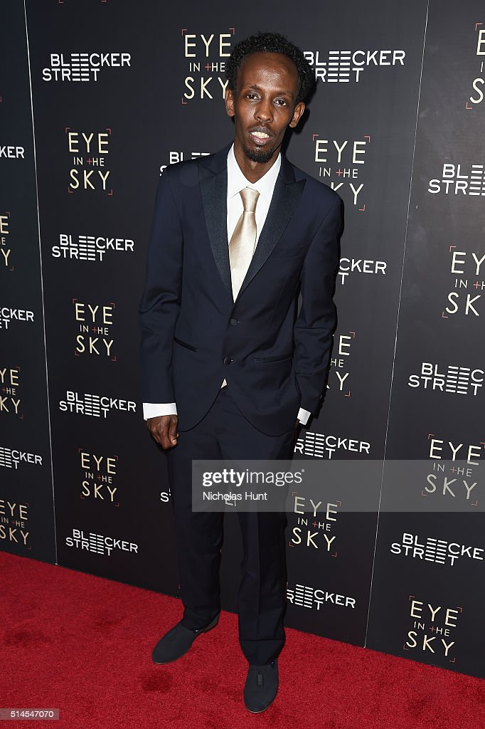 Actor Barkhad Abdi attend the 'Eye In The Sky' New York Premiere at AMC Loews Lincoln Square 13 theater on March 9, 2016 in New York City.