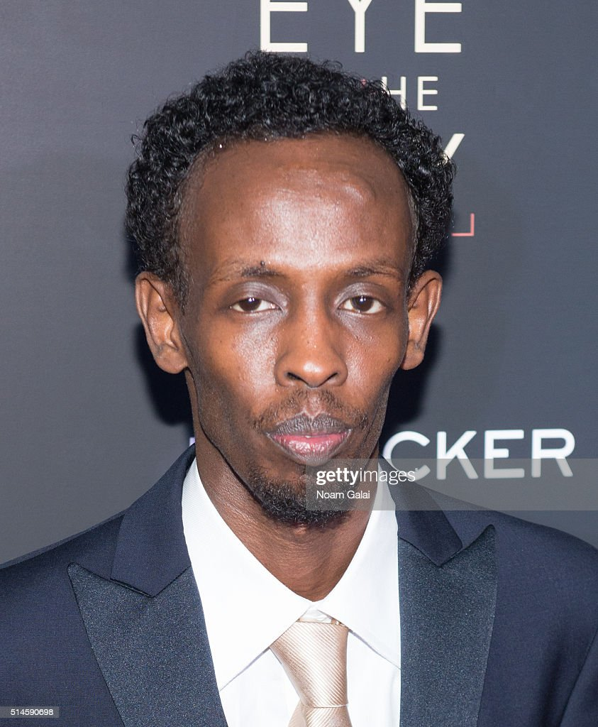 Actor Barkhad Abdi attends the 'Eye In The Sky' New York premiere at AMC Loews Lincoln Square 13 theater on March 9, 2016 in New York City.