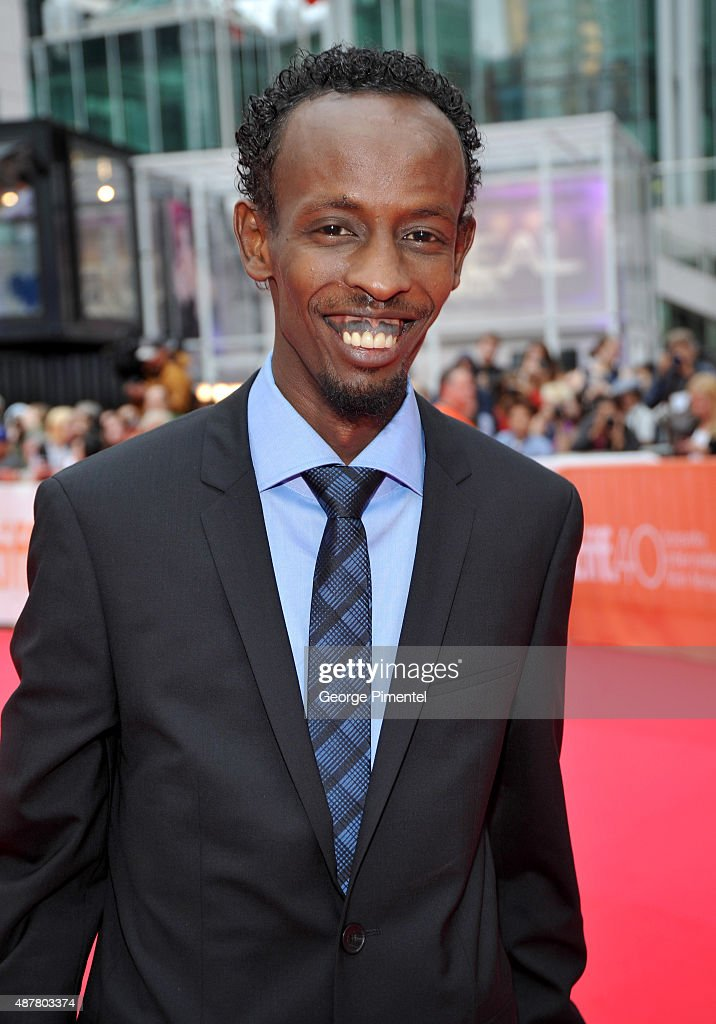 Actor Barkhad Abdi attends the 'Eye In The Sky' premiere during the 2015 Toronto International Film Festival at Roy Thomson Hall on September 11, 2015 in Toronto, Canada.