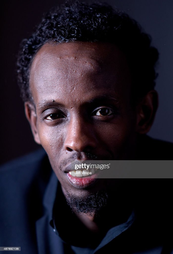 Actor Barkhad Abdi from 'Eye In The Sky' poses for a portrait during the 2015 Toronto International Film Festival at the TIFF Bell Lightbox on September 12, 2015 in Toronto, Canada.